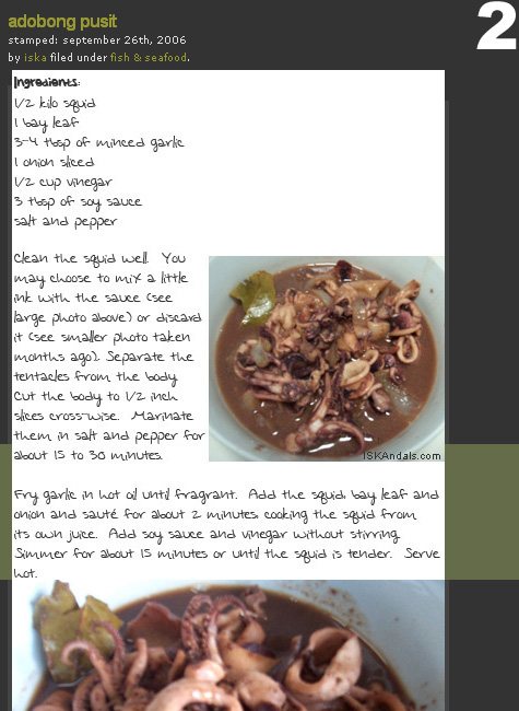 Recipe ebooks iskandals adobong pusit braised boneless pata marbleized quail eggs adobo part 1 marbleized quail eggs adobo part 2 chinese style steamed fish part 1 forumfinder Choice Image