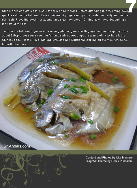 Recipe ebooks iskandals chinese style steamed fish part 2 forumfinder Image collections