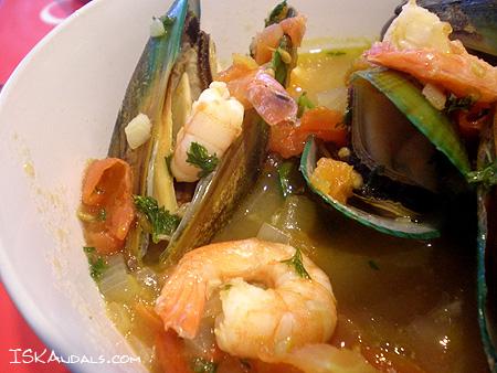 Marinara Soup