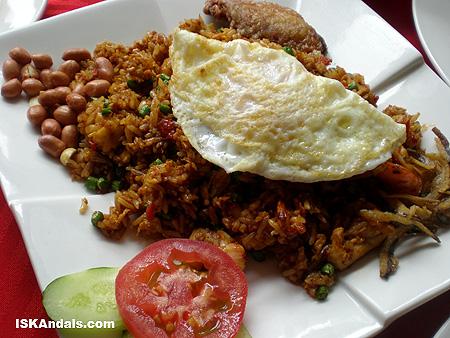 Nasi Ayam Goreng