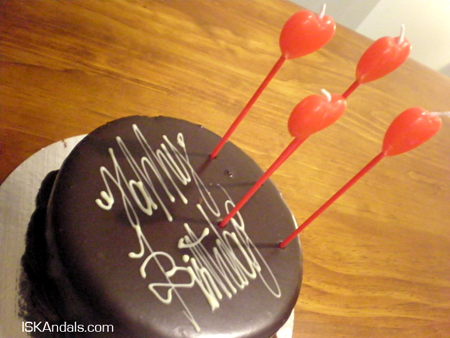 My birthday cake...