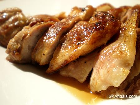 Pan-fried Duck Legs