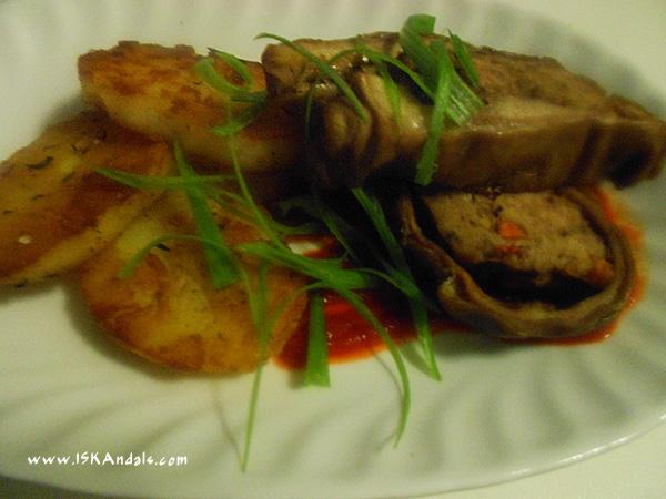 Pork stomach ala-spam