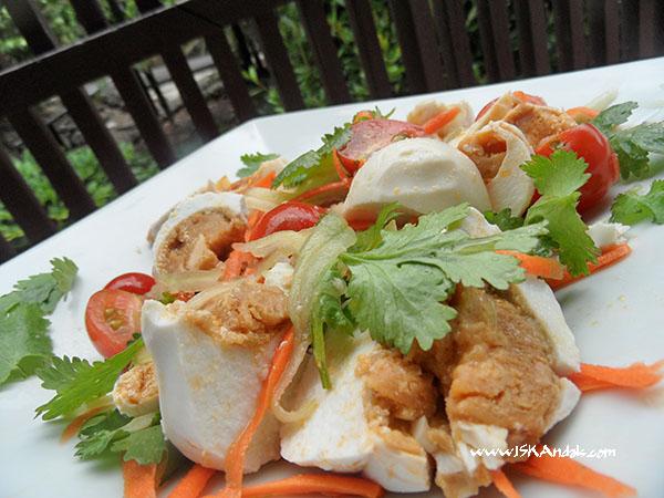 Salted Egg Salad