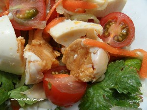 Salted Egg Salad