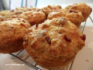 Bacon &amp; Cheese Muffins