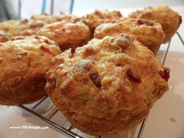 Bacon & Cheese Muffins